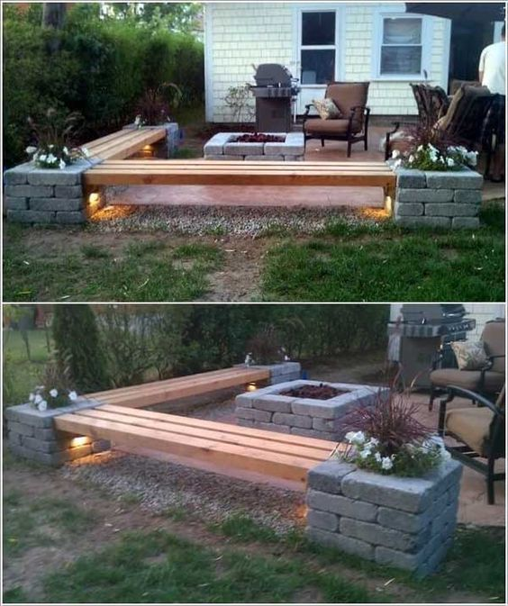 These 27 DIY Backyard Projects For Summer Are Extremely Cool #firepitideas