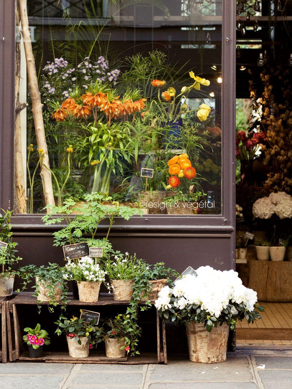 Top 5 Paris Flower Shops Spring In The City Flower Shop