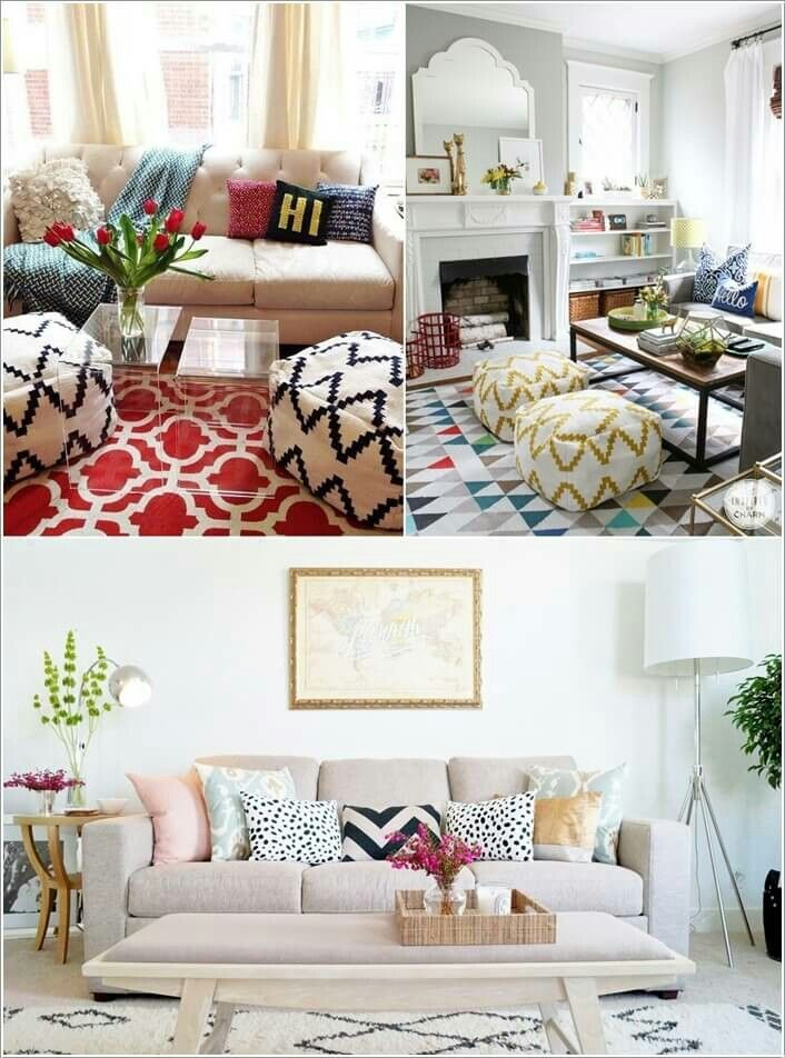 Pin By Almira Yasmine On Interior Small Living Rooms Small Living Room Rental Decorating