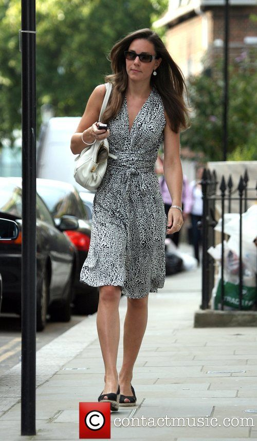 Kate Middleton. Love her style as well as her choice of wedding dates. April 28 :)