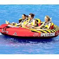 Ebay Motors New Sportsstuff Towable Boat Tube 3 Rider Speedzone 3 Spo 531940