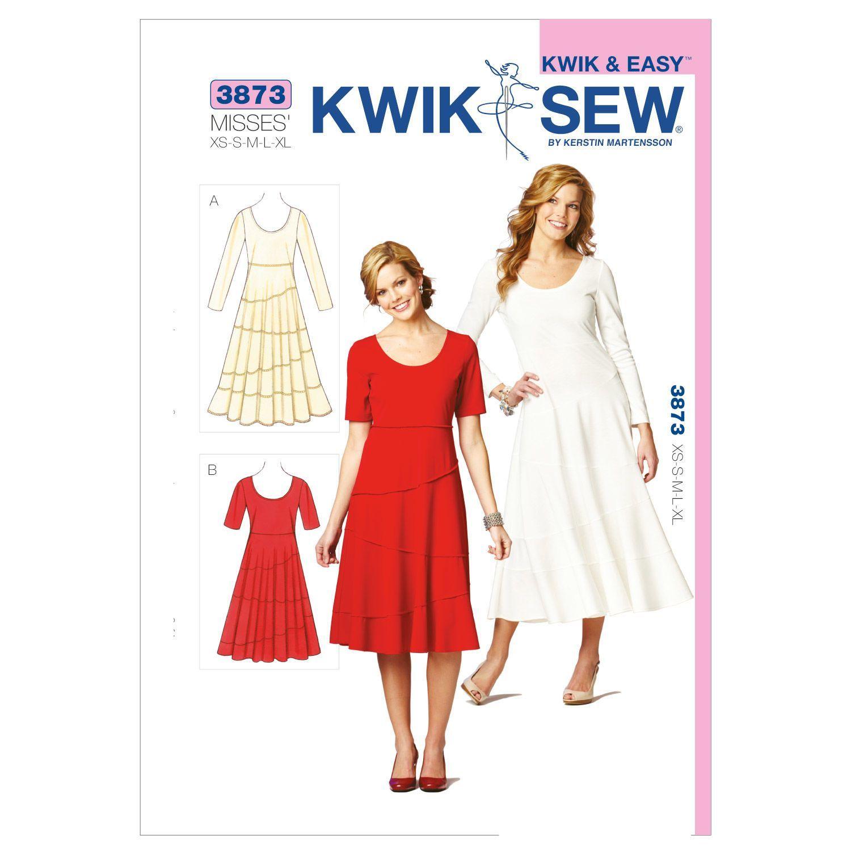 Mccall Pattern K3873 Xs - S - M - L - X - Kwik Sew Pattern