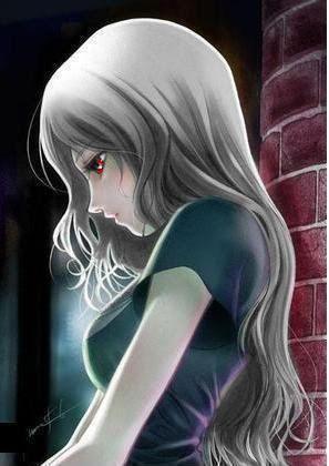 Girlishness Vampiry Anime Fentezi