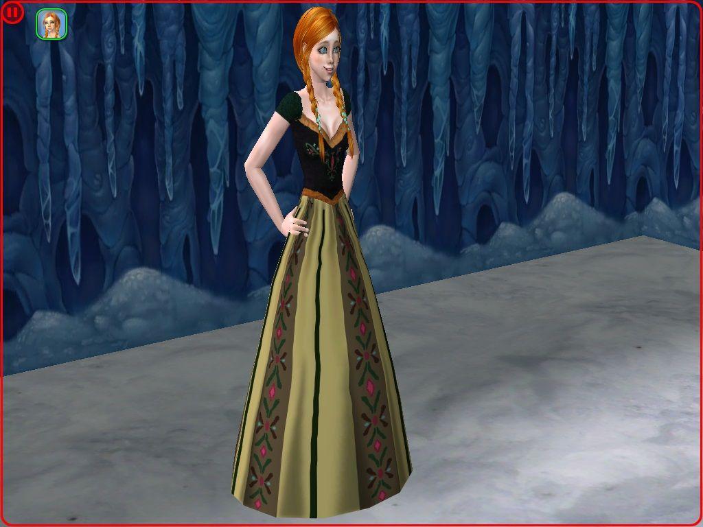 The dress from frozen - Mod The Sims Anna S Coronation Dress Disney S Frozen