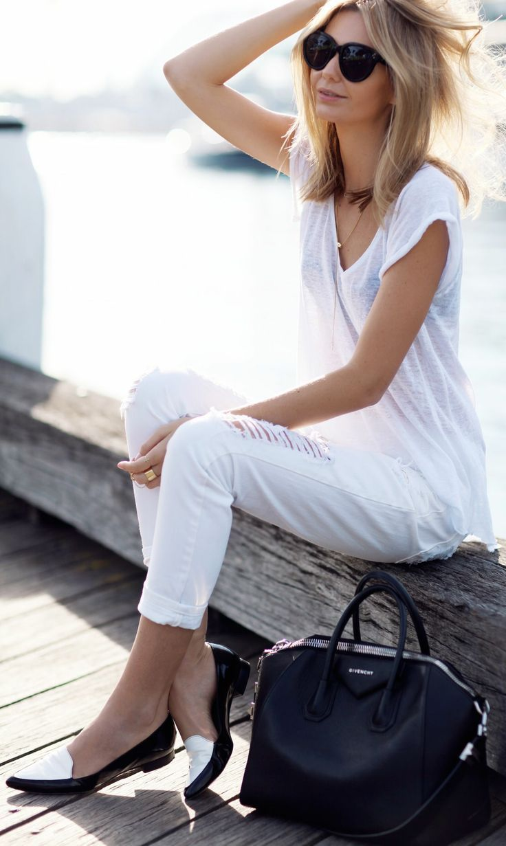 Total White Outfit - Winter 2014