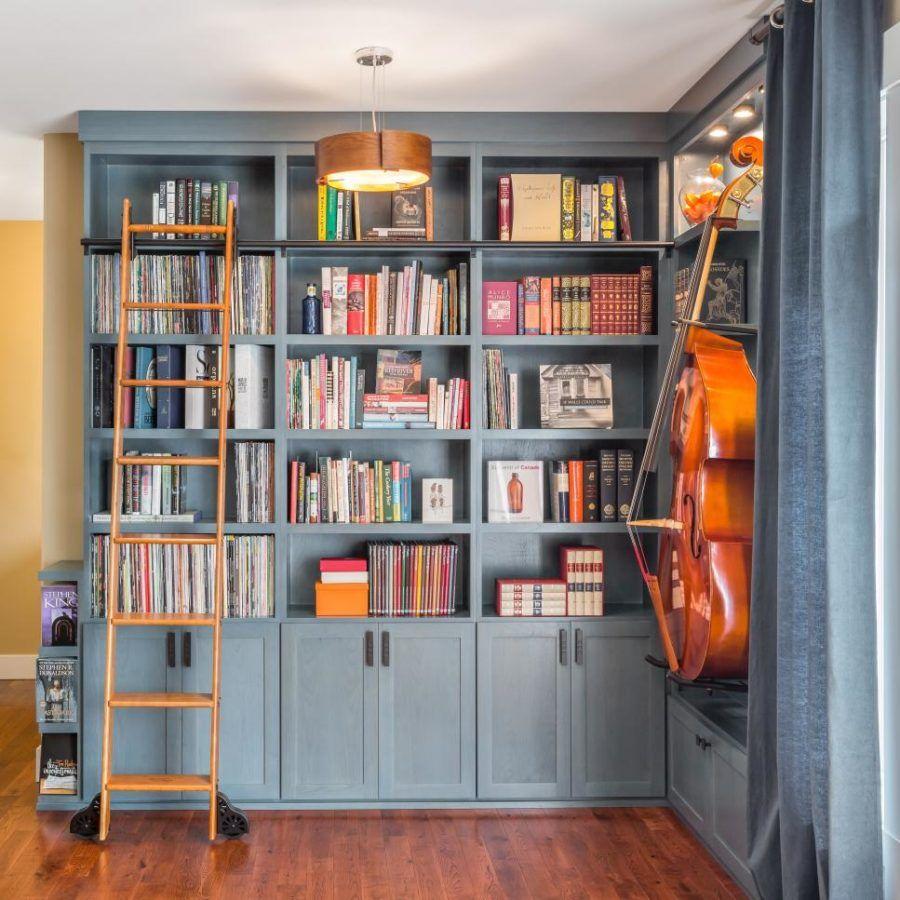 Moderne Hausbibliothek Ideen für Bücherwürmer und Schmetterlinge ...
