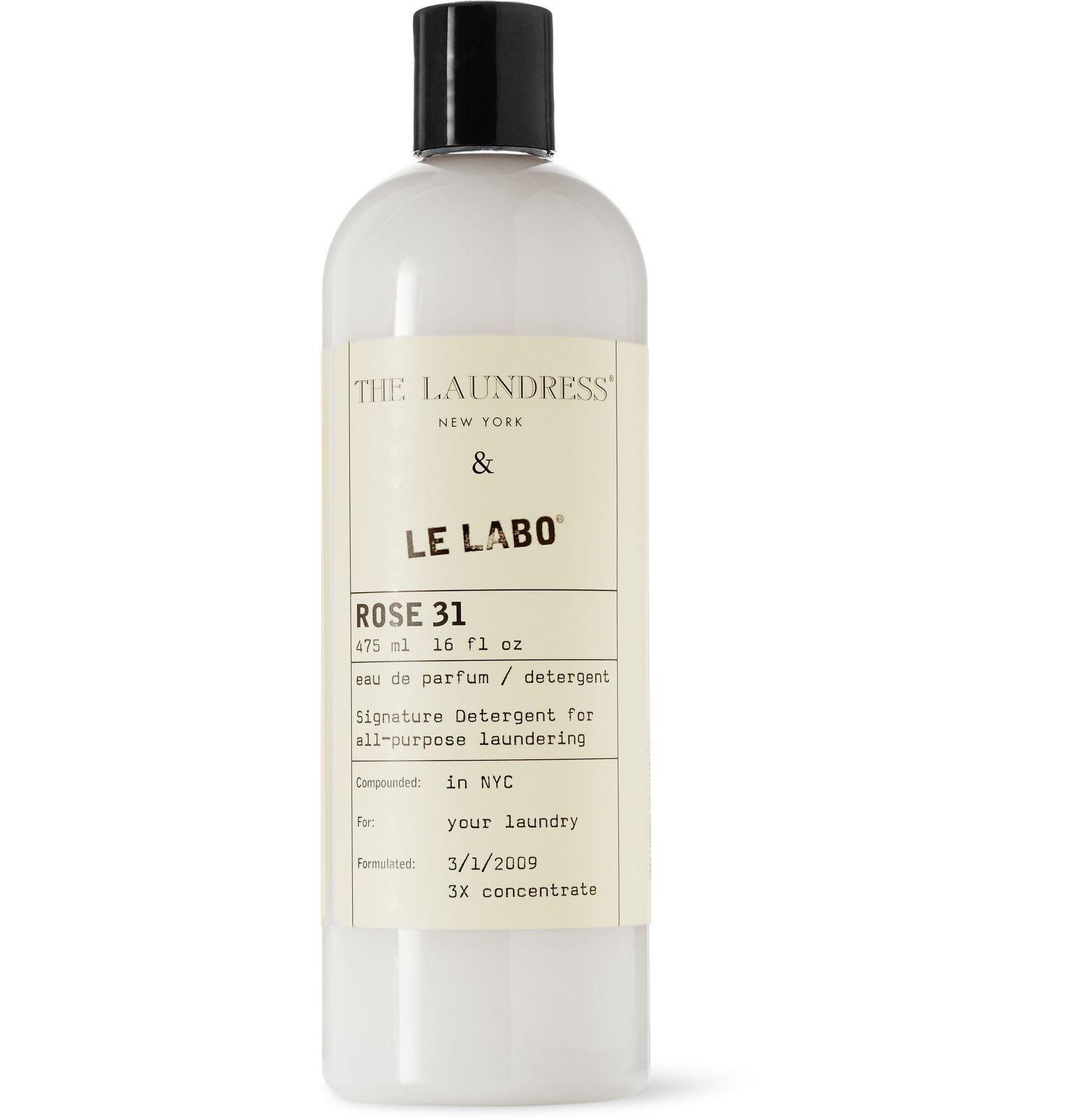 White Le Labo Rose 31 Signature Detergent 475ml The Laundress