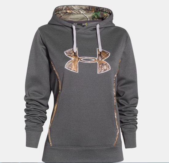 9facdce9 NEW Under Armour Hoodie Storm Caliber Sweatshirt Gray Carbon Heather ...