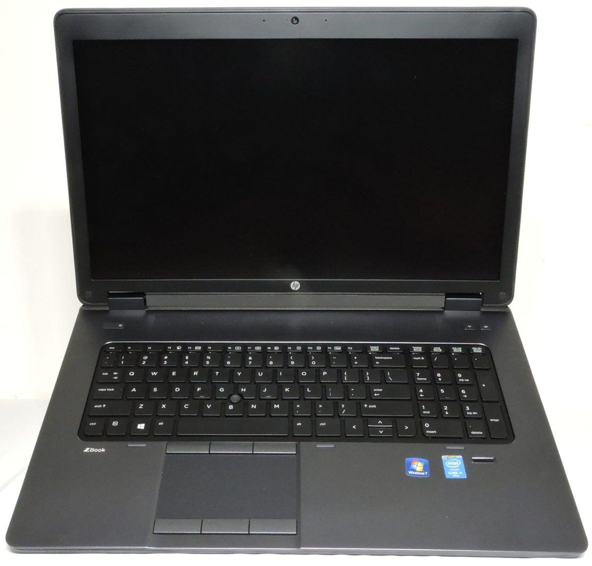 Hp Zbook 17 G2 Intel Core I7 4810mq Nvidia Quadro K3100m 16gb