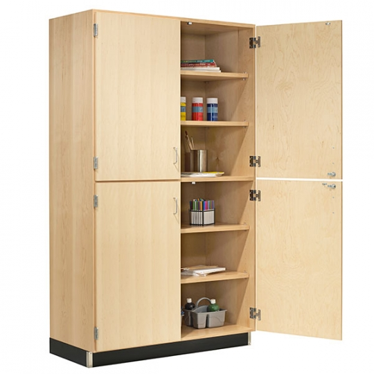 Tall Storage Cabinet With Four Solid Doors 36 W X 84 H X 22 D Schoolsin Tall Cabinet Storage Solid Doors Storage