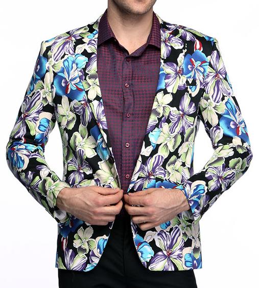 nike roshe floral print mens velvet jacket