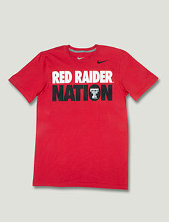 2b47eec40fd Raider Nation Red Short Sleeved Shirt. Red Raider Outfitters. Find this Pin  and more on Texas Tech Football ...