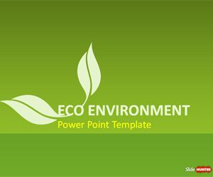 free green sustainability powerpoint template is a presentation