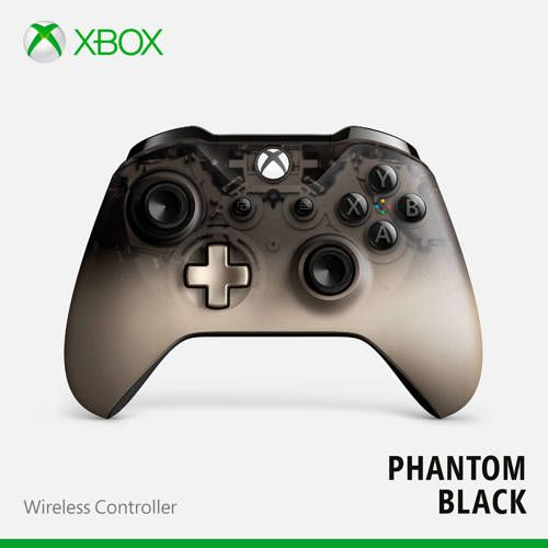 Microsoft Xbox One Draadloze Controller Phantom Black Special Edition In 2020 Xbox One Xbox En Windows 10