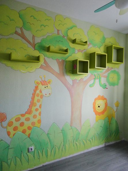 Decoracion con pintura habitaciones infantiles - Decoracion de salones pintura ...
