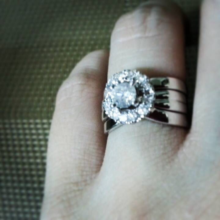 Enhanced My Engagement Ring By Redesigning My Old Wedding Ring To