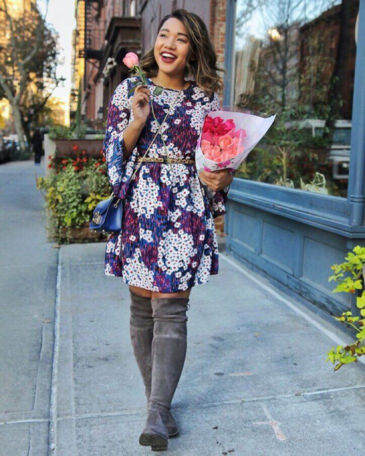118d3e62b82 Pin for Later  Solve 2016 s Outfit Dilemmas Before They Happen With These  45 Fashion Hacks Make Over-the-Knee Boots Work-Appropriate The key is to  keep your ...