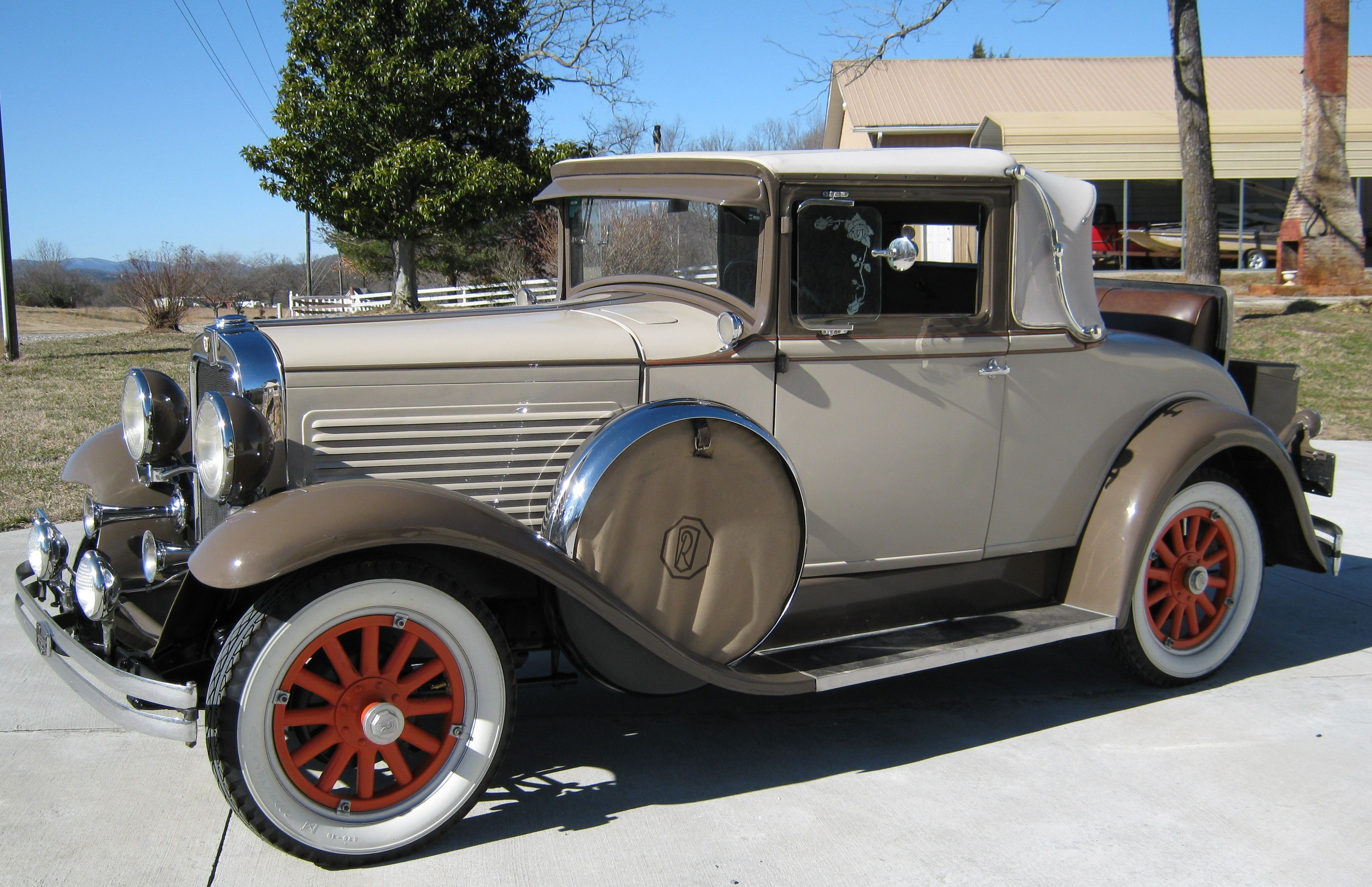Marmon 1929 roosevelt coupe