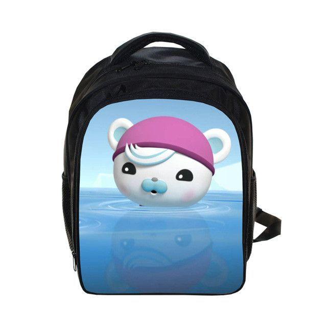 Octonauts Cartoon School Bag 3D backpack Children