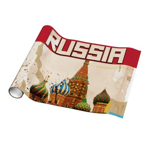 Moscow  - Russia Gift Wrapping Paper