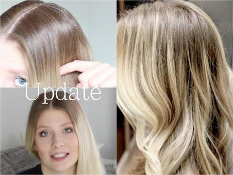 Haare blond rauswachsen lassen