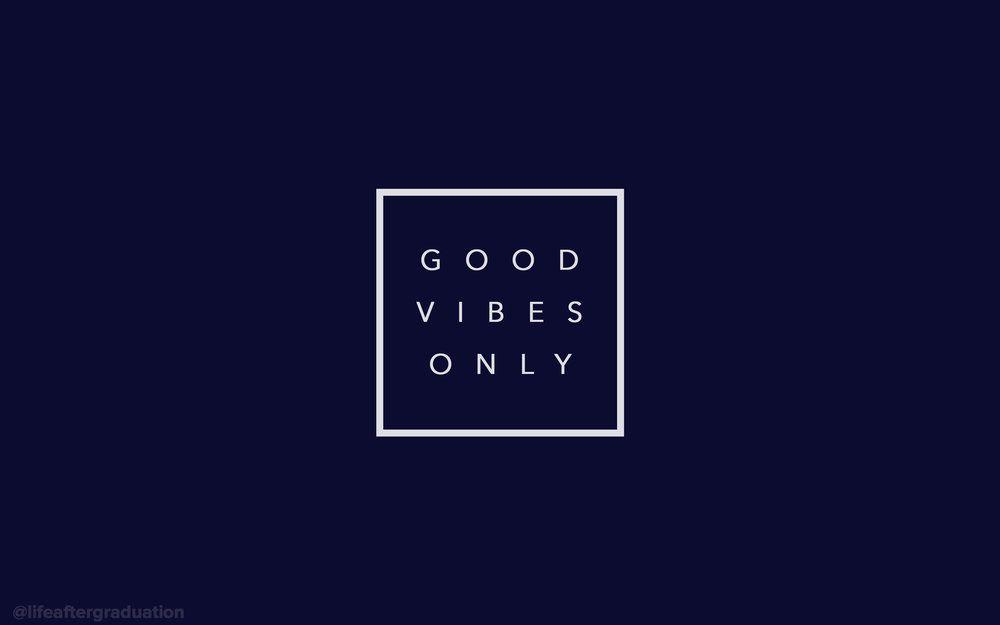 good vibes only Macbook wallpaper, Macbook air wallpaper