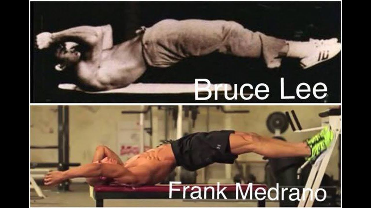 Dragon Flag Tutorial Frank Medrano Abs Workout Bruce Lee Favorite Ex Bruce Lee Abs Workout Abs Workout Bruce Lee Workout
