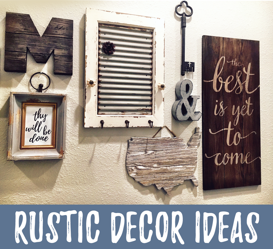 rust decor ideas | frame printable art from easy | gallery wall