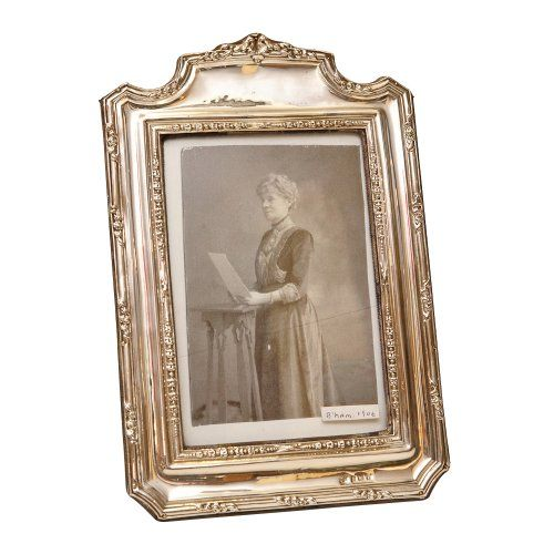 Antique Sterling Silver Picture Frame Decorative Accessories