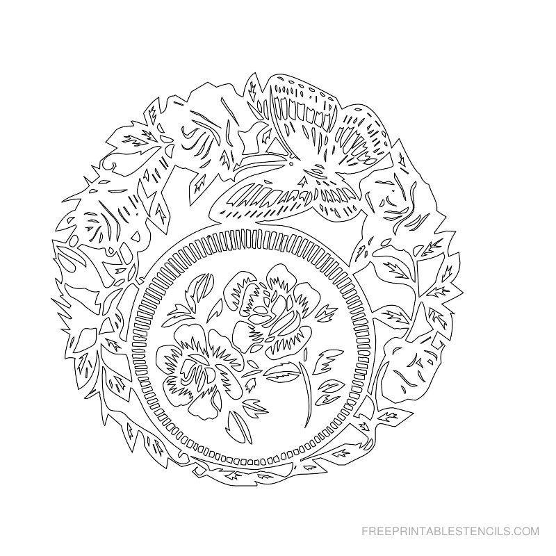 free printable drawing templates