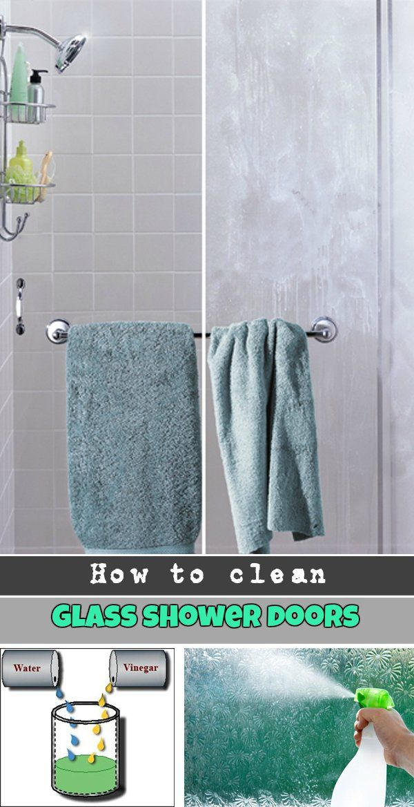 How to clean glass shower doors - Cleaning bathroom glass shower doors ...
