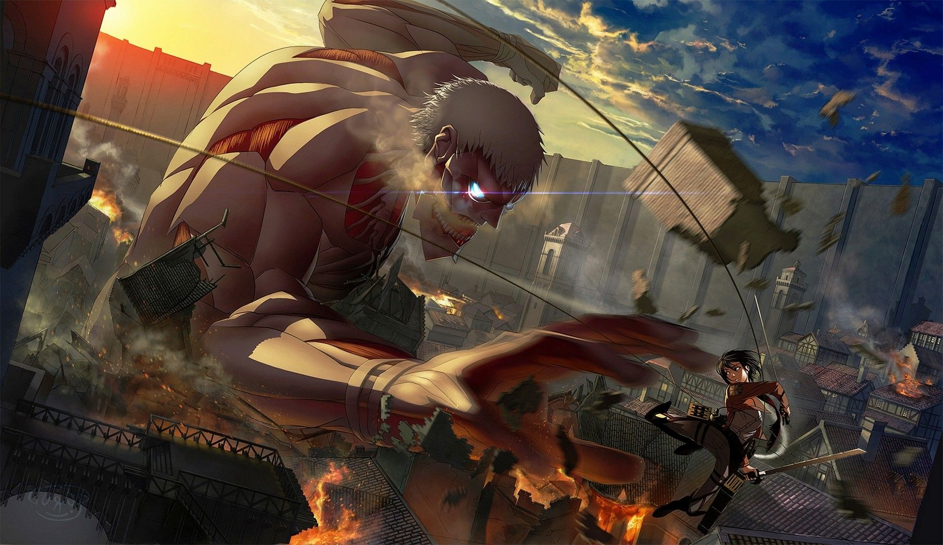 Shingeki No Kyojin Hd Desktop Wallpaper High Definition Attack On Titan Season Attack On Titan Art Attack On Titan