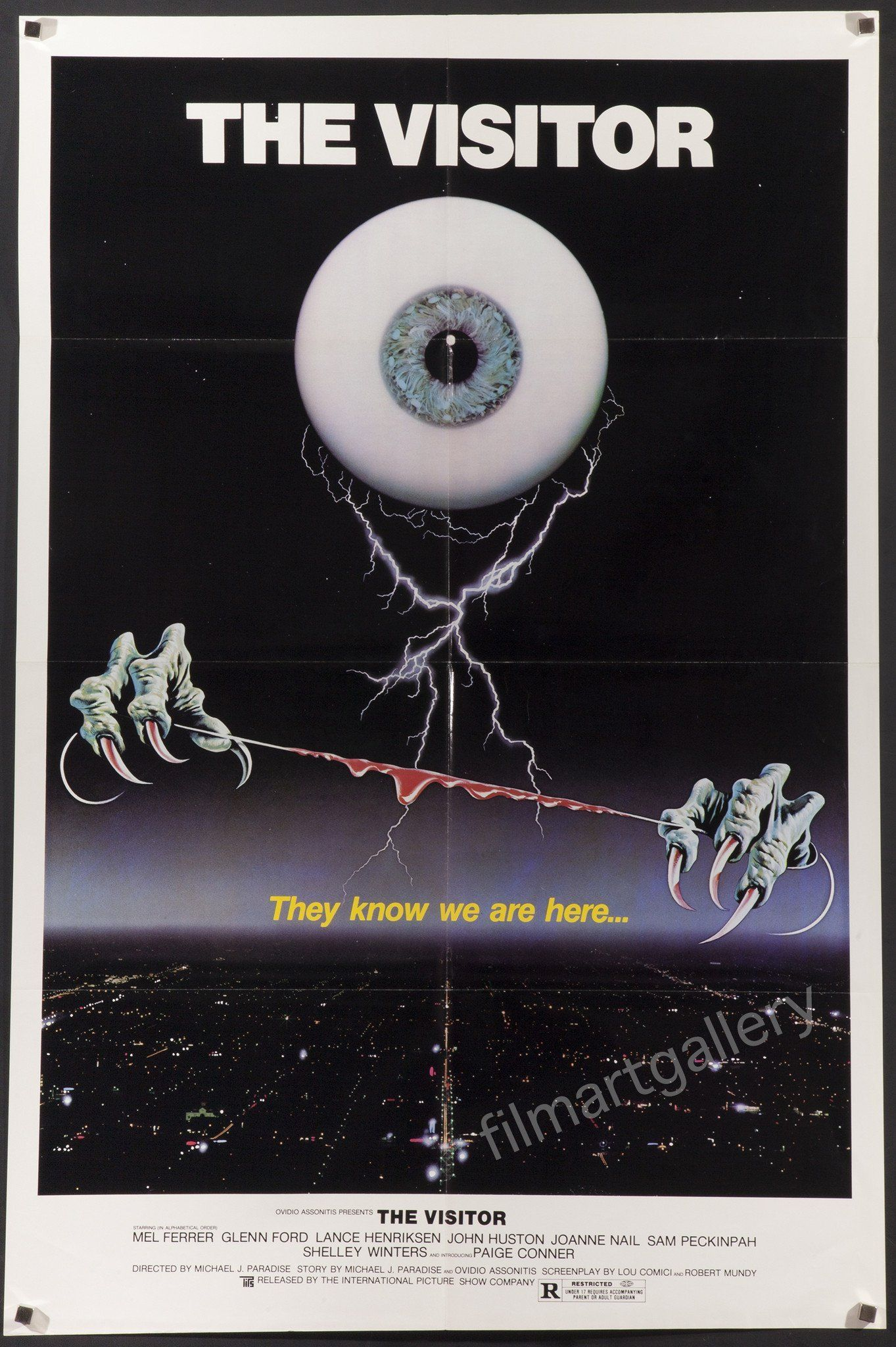 The Visitor The visitors, Movie posters vintage, Vintage