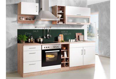 Küchenzeile Sevilla Set 1 240 Cm Mit Elektrogeräten Im Online
