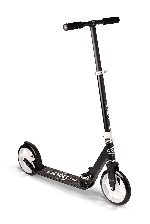 Adult kick scooter weight limit folds down lightweight aluminum frame ride