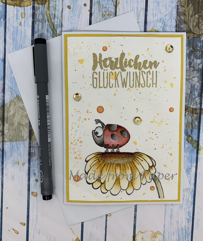 Glückwunschkarte Zum Geburtstag Geburtstagskarte Karte Zum