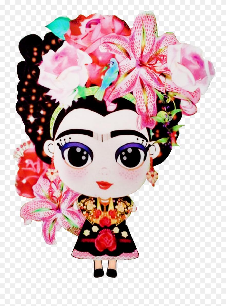 Download Hd Pinata Clipart Decor Mexican Frida Kahlo Cartoon Png Download And Use The Free Clipart For Your C Frida Kahlo Cartoon Free Clip Art Frida Kahlo