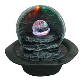 Aqua Creations Large Led Crystal Ball Table Top Water Feature