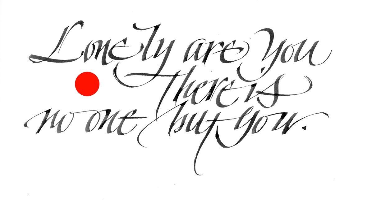 Luca Barcellona Expressive Italic Calligraphy