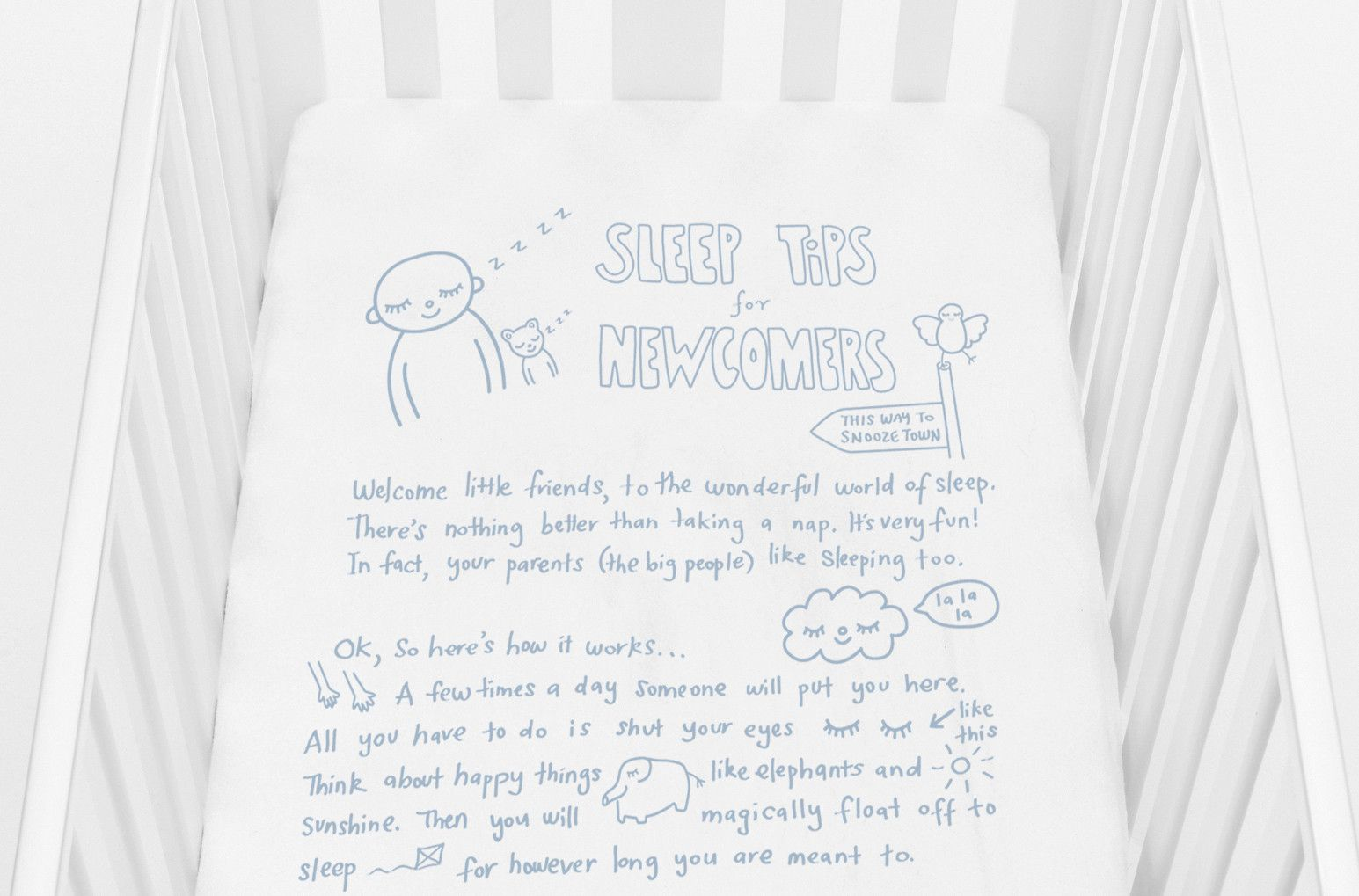Love These Crib Sheets With Tips For Getting To Dreamland