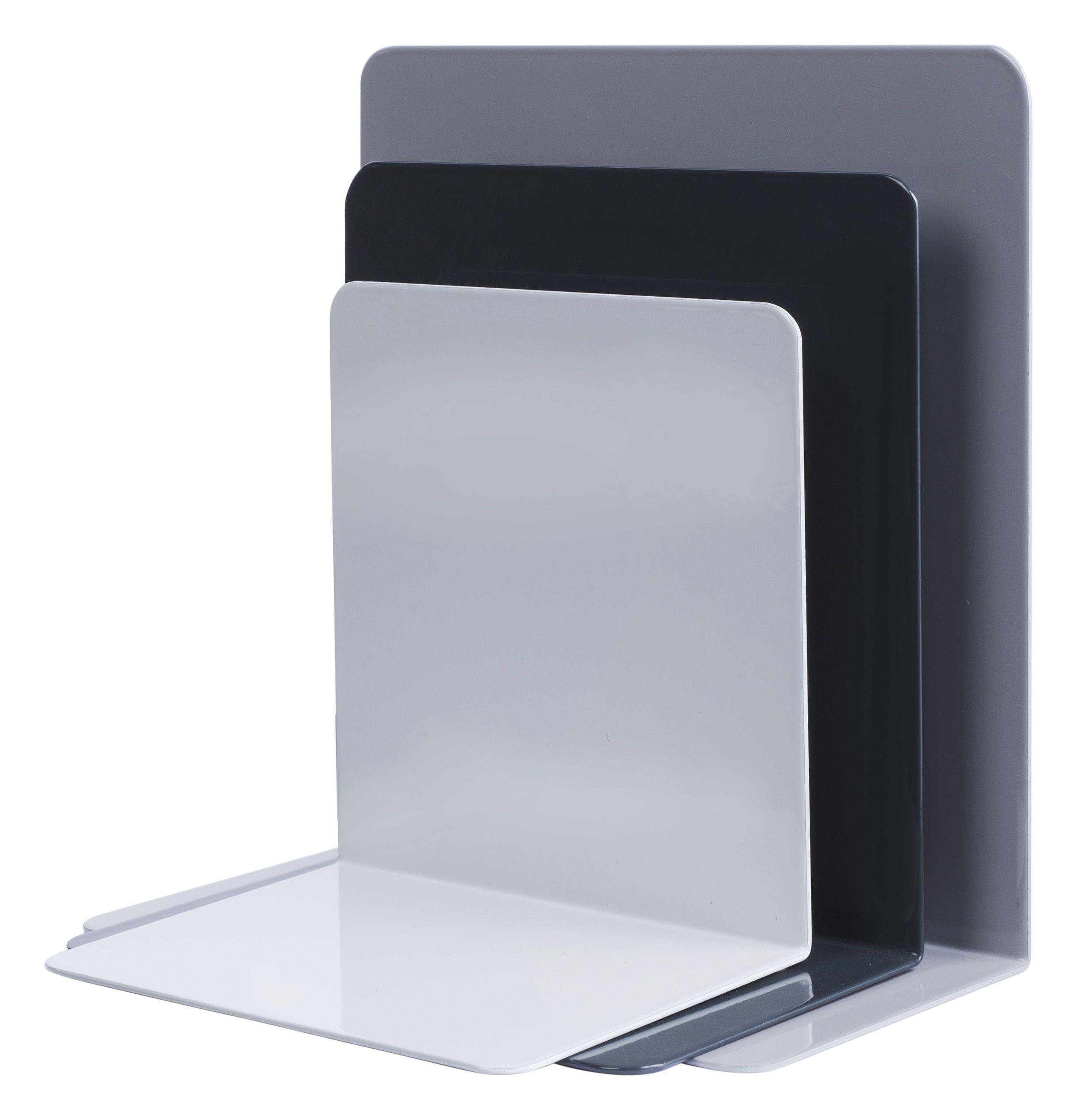 Serre Livre Metallique Set De 3 Hay 26 Serre Livres Diy Ikea Etagere Rangement