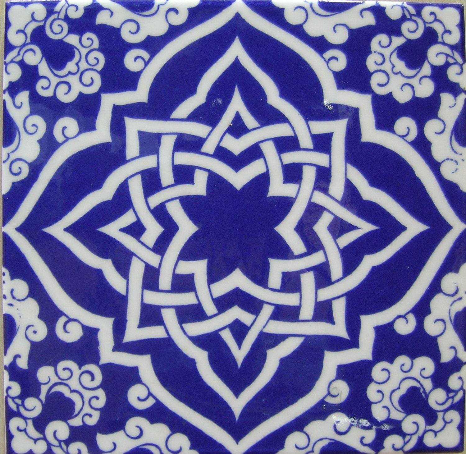 IZNIK CERAMIC TILE with Traditional Kutahya by MineHomeDecoration ...