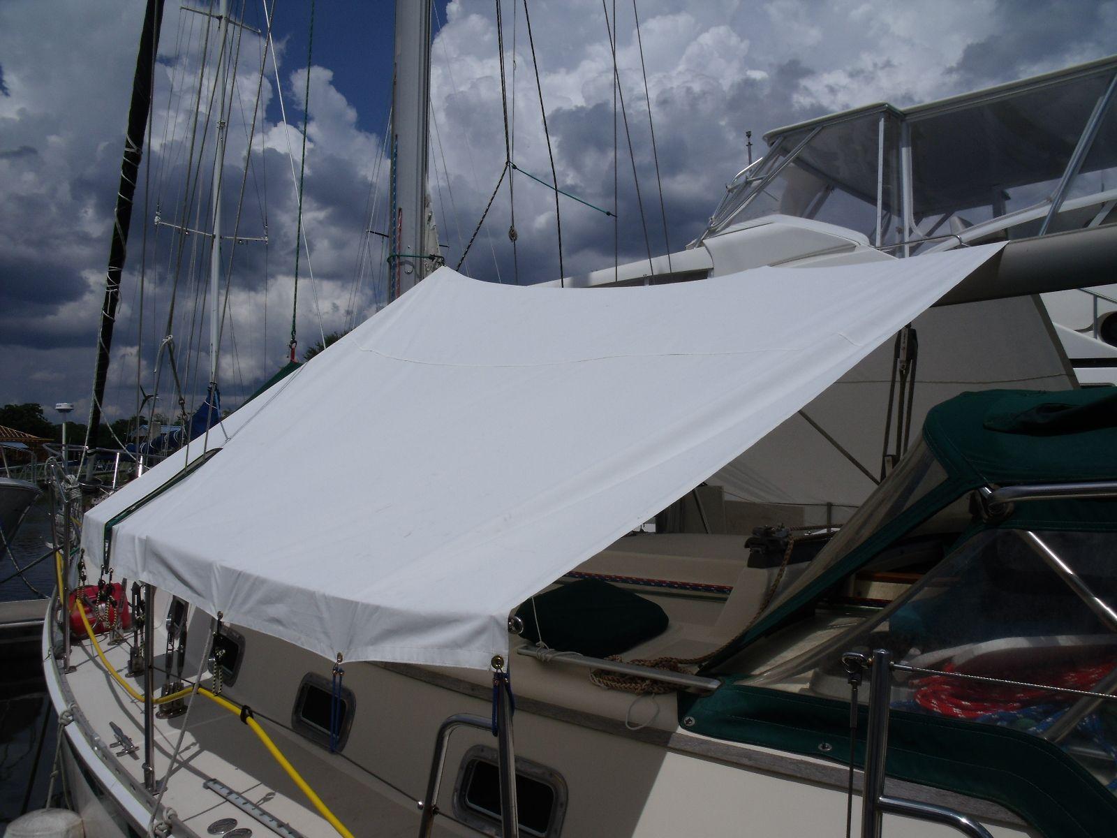 Wildcat Sailorgirl My New Sunshade Boat Sewing