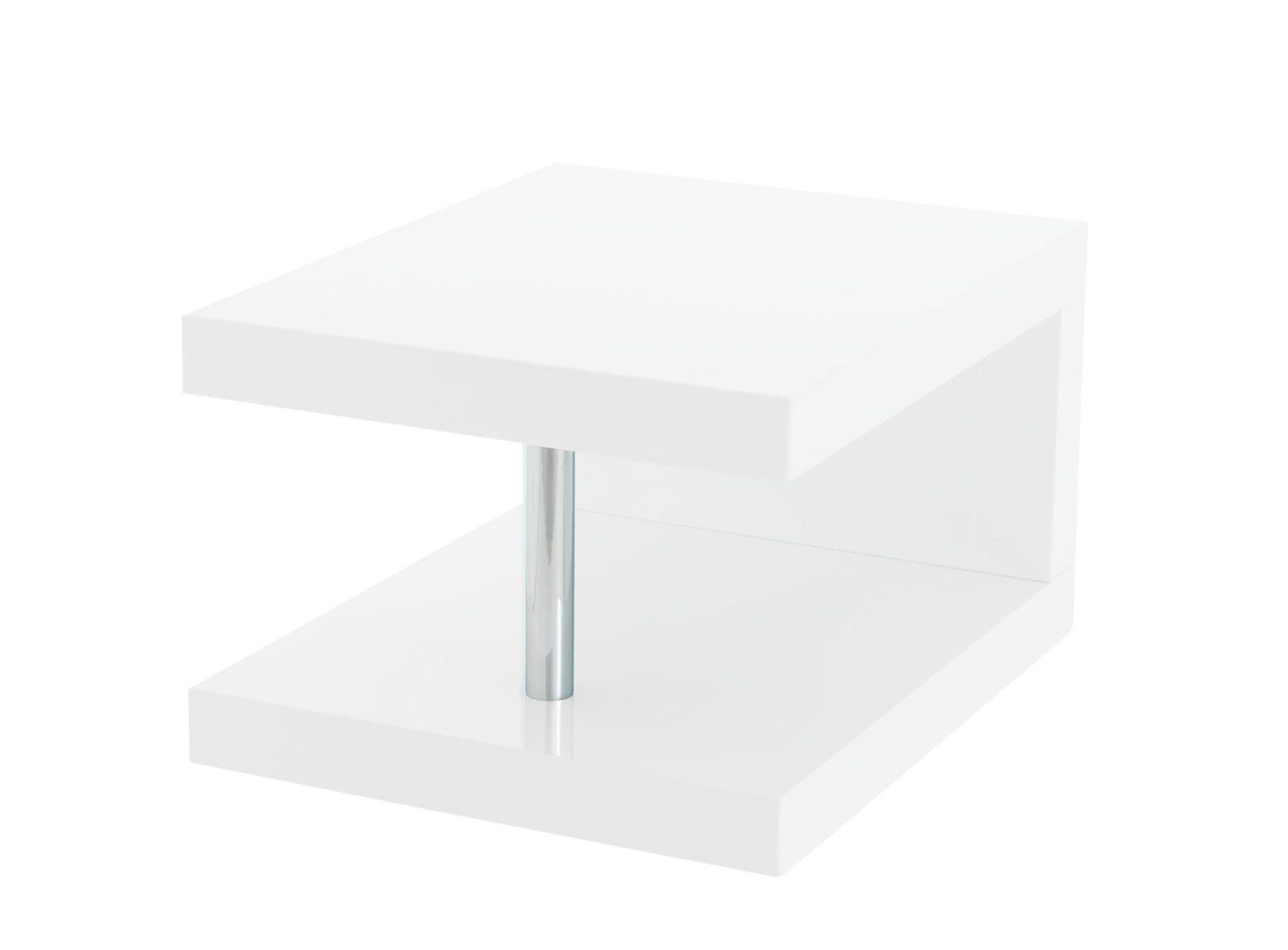 Chevet Brillant FlyAmenagement Blanc en cuisine Table rBedxoC