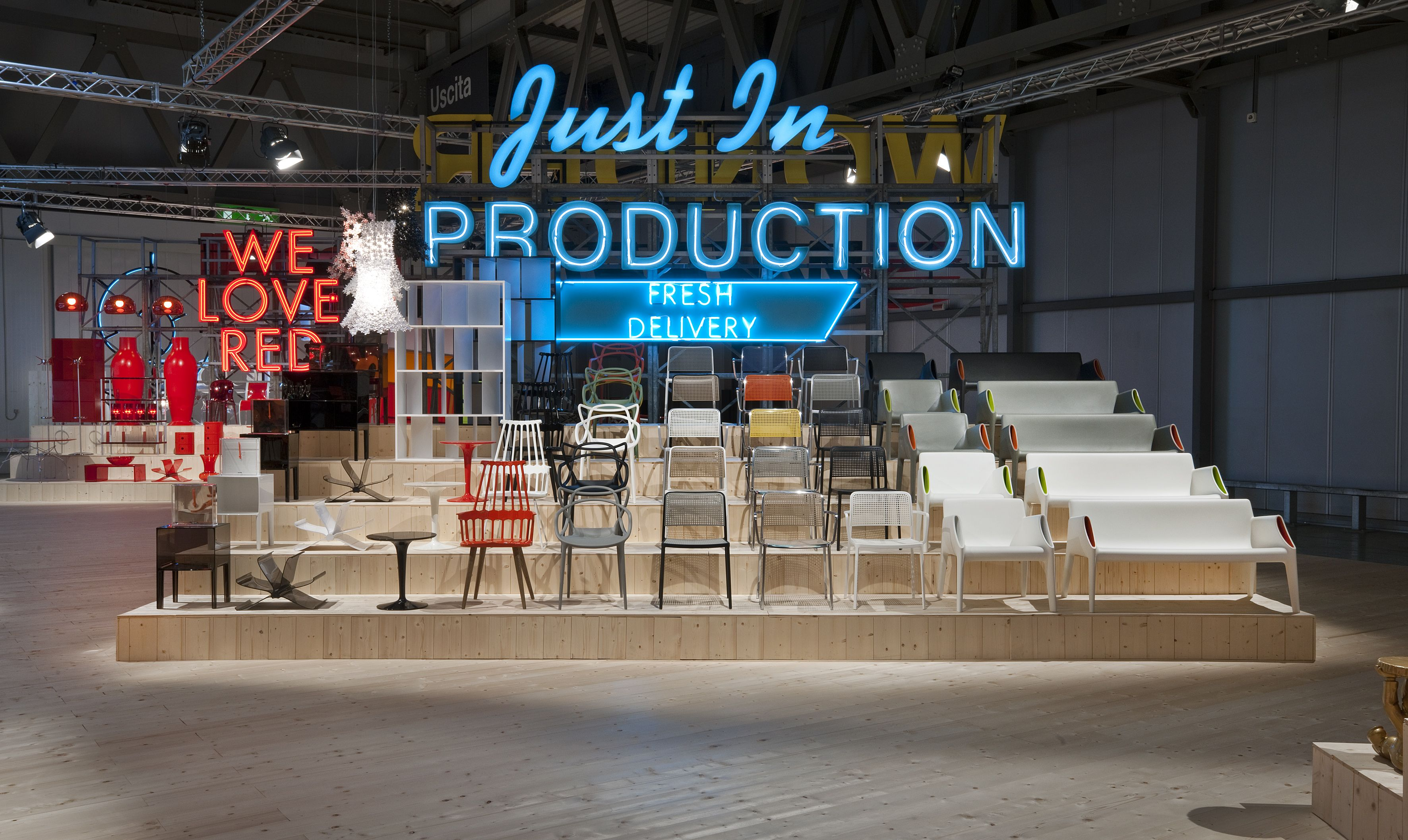 Kartell Just in Production Stand 2013 Products