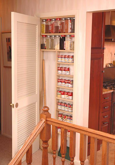 8 Kitchen Pantry Cabinet And Shelf Ideas That Solve Storage Problems |  Small Closets, Narrow Closet And Pantry