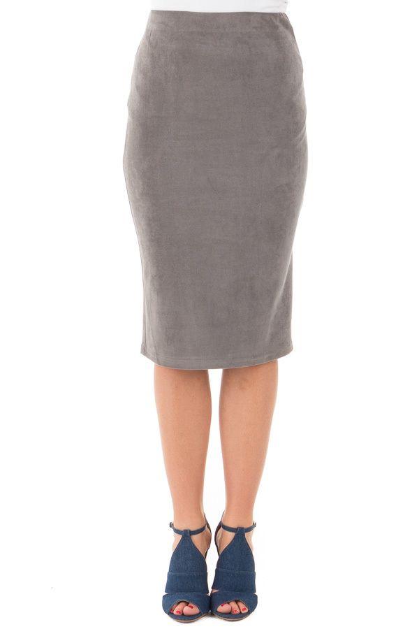Lime Lush Boutique - Grey Faux Suede Pencil Skirt, $29.99 (https://www.limelush.com/grey-faux-suede-pencil-skirt/)#fashion#spring#happy#photooftheday#followme#follow#cute#tagforlikes#beautiful#girl#like#selfie#picoftheday#summer#fun#smile#friends#like4like#pinterestfollowers