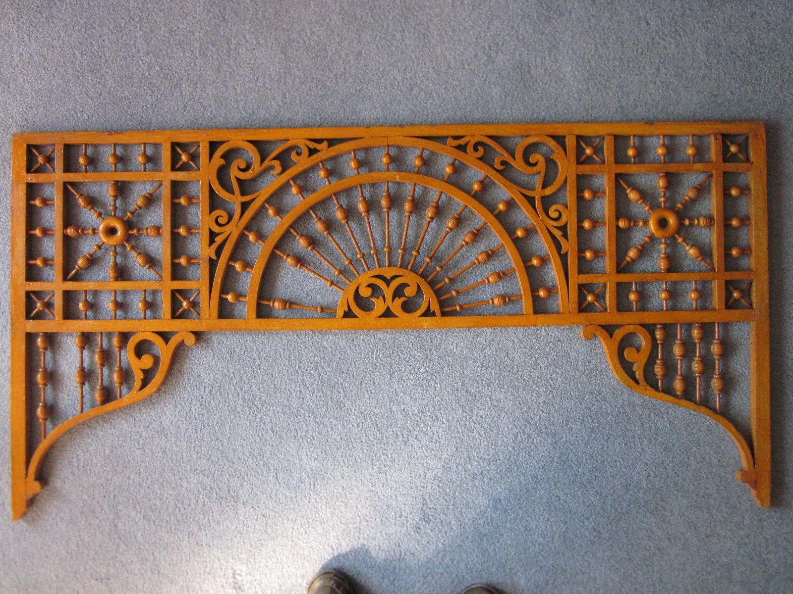 Victorian gingerbread stick and ball architectural ornament fretwork ...