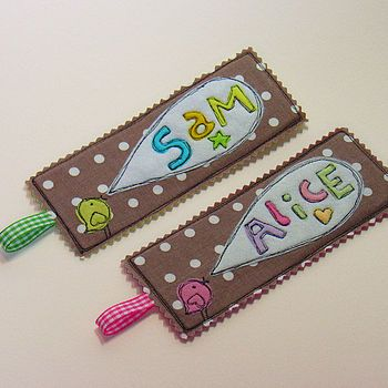 Personalised 'Little Tweet' Bookmark