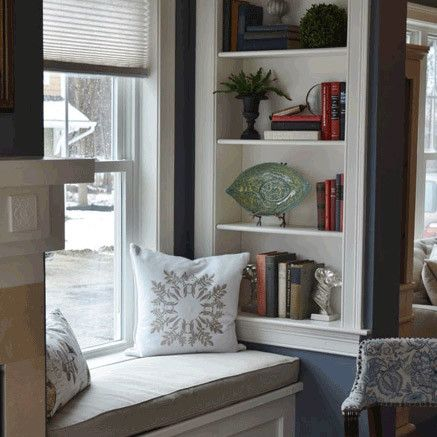 5 Tips To Create A Cozy Window Seat   Right, Now   Wayfair. Family Room  DesignFamily ...
